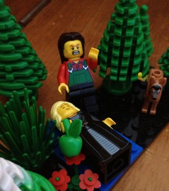 ...and the last thing I heard was a muttered word ...