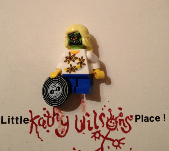 They came from outer space, now All hell's breaking loose down at little kathy Wilson's place!