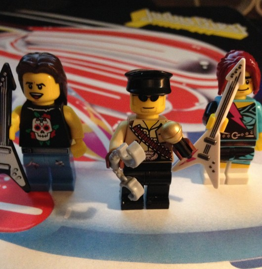 I'm still waiting for my Ian Hill Lego figure