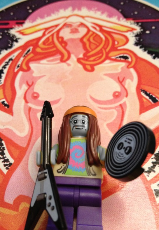 Lugs and Lego - what's not to like?
