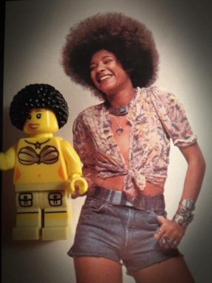 Betty Davis Lego