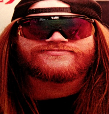 A rare bearded Axl contemplating dog owners