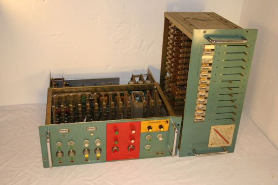 Vocoder built for Kraftwerk (stolen from Wikipedia)