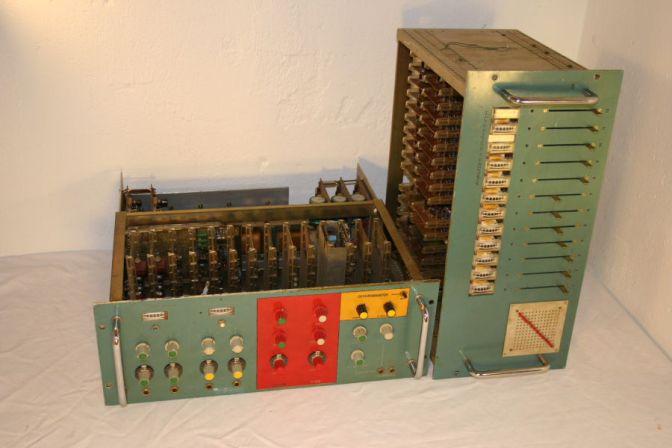 Vocoder built for Kraftwerk (stolen from Wikipedia)