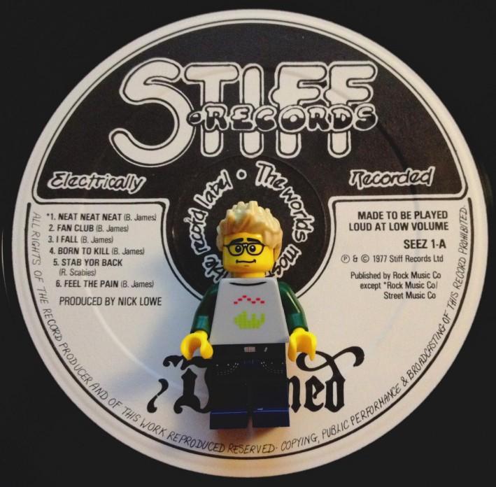 You can't beat Stiff Records.  Their slogan: 'If it ain't Stiff, it ain't worth a fuck'