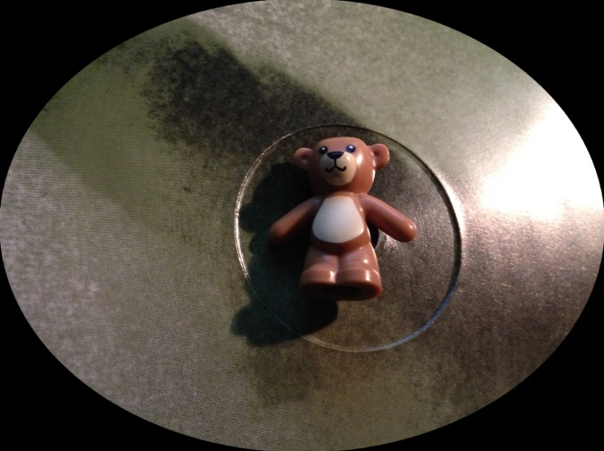 Teddy overcome by the vast, immutable vast vastness of the vast ocean