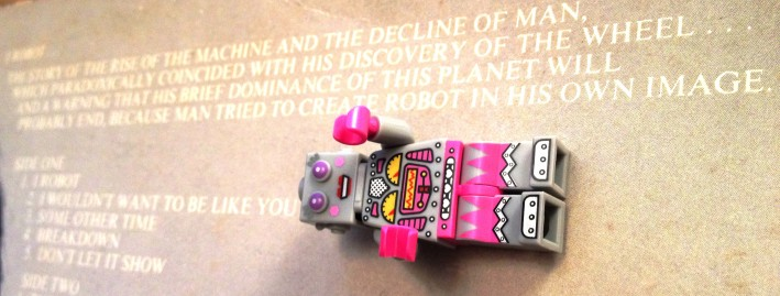 Some profound out-of-focus stuff about robots