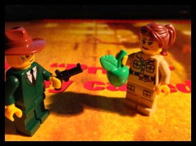 Time for our William Tell act