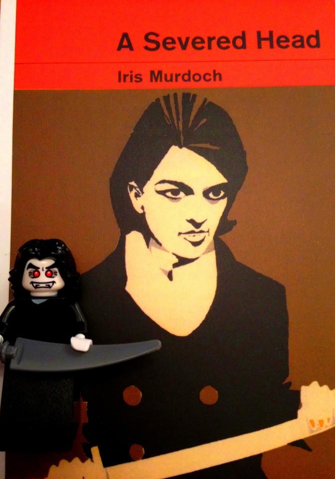 Iris Murdoch Severed Head Lego