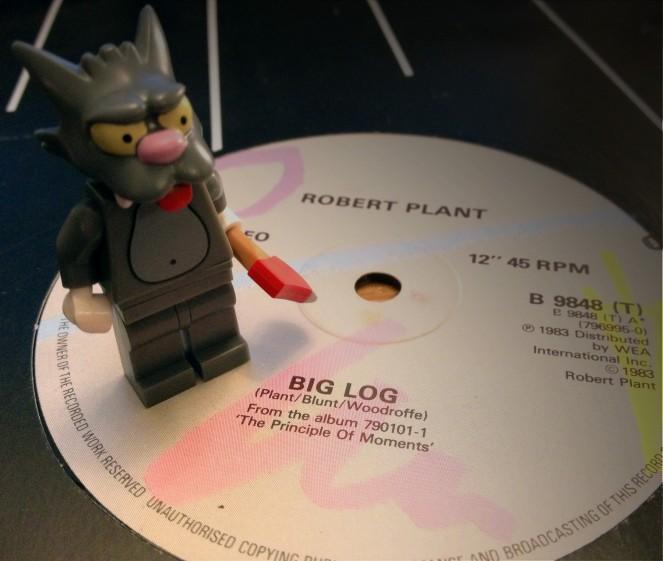 Robert Plant Big Log 01