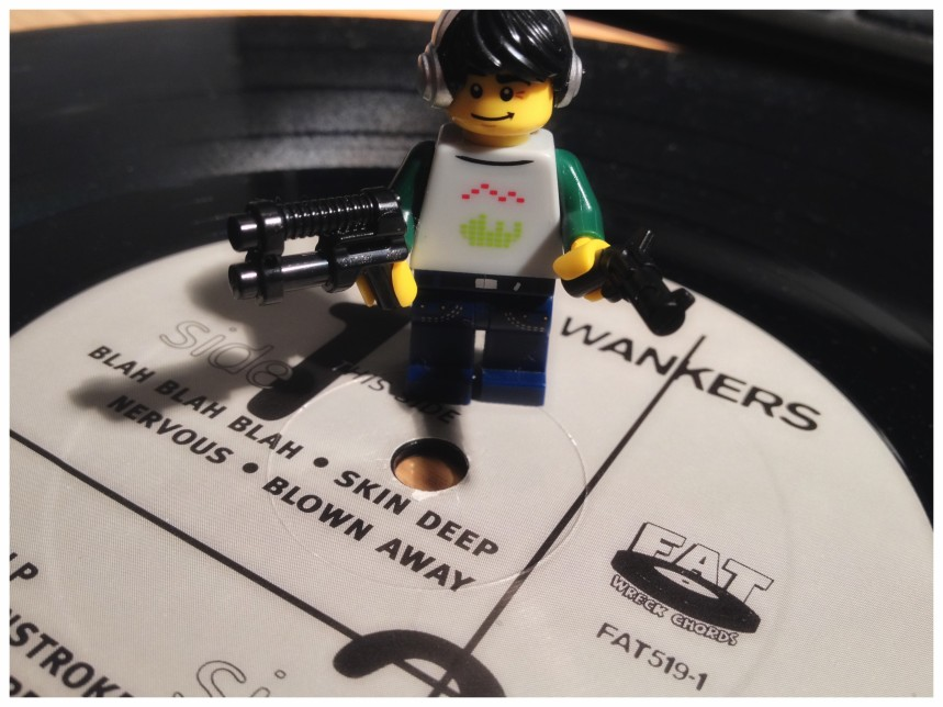 Lego, they provide the wherewithal to do the 'guns' bit, but not the other