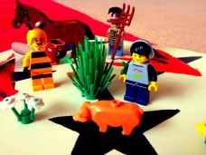 Rural Virginia, yesterday