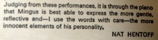 Charles Mingus Plays Piano 01