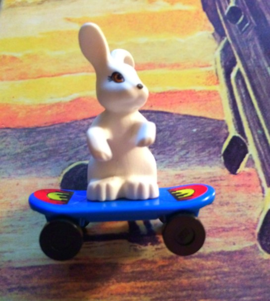 Not many know that Chester Burnett was originally going to use the name Skateboardin' Bunny. True story.