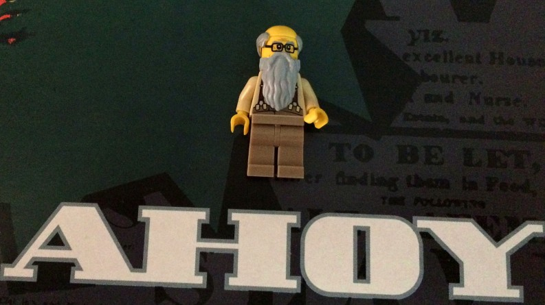 I've never made a Lego Karl Marx before.