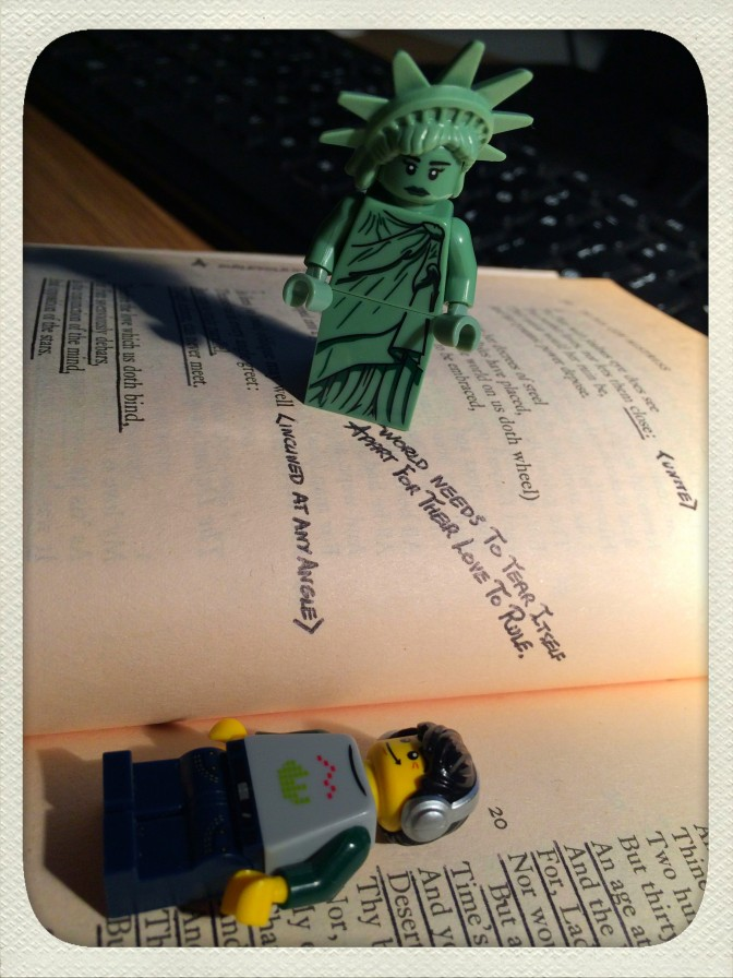 No I said lady liberties, not Lady Liberty!!