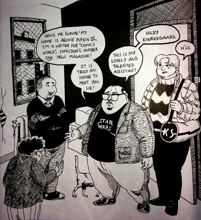 Comics types