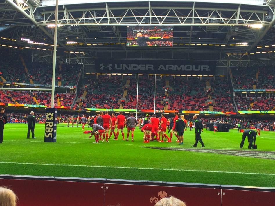 Wales v Ireland 2015 01