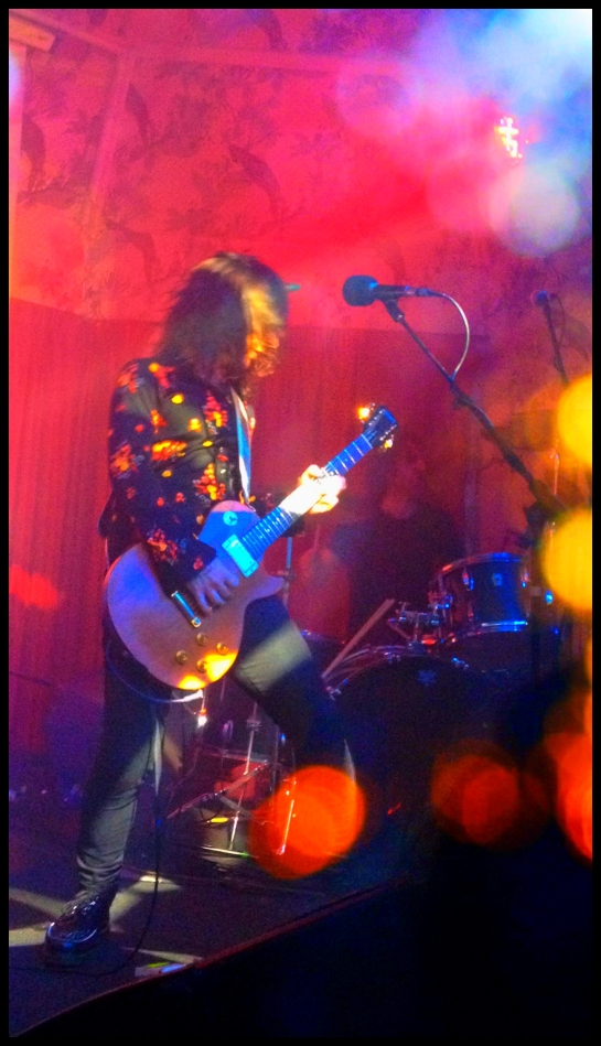 Dave W, in action (melted faces just out of shot)
