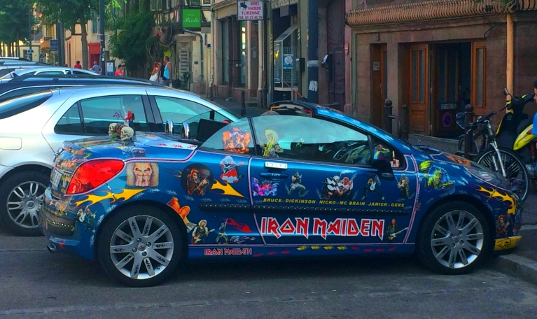Iron Maiden Car Colmar