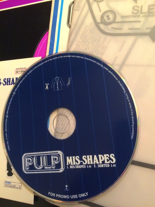 OKay, so it is a CD, but at least it is appropriately pin-striped