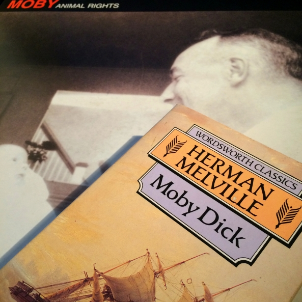 By weird, cosmic coincidence I first bought Moby Dick 23 years ago today.