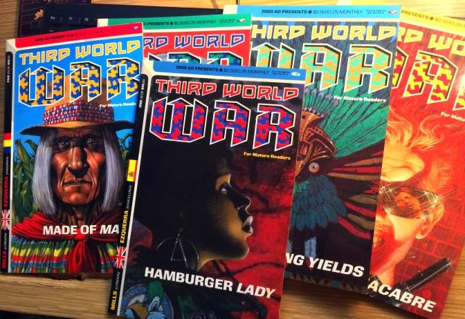 Third World war Comic 01
