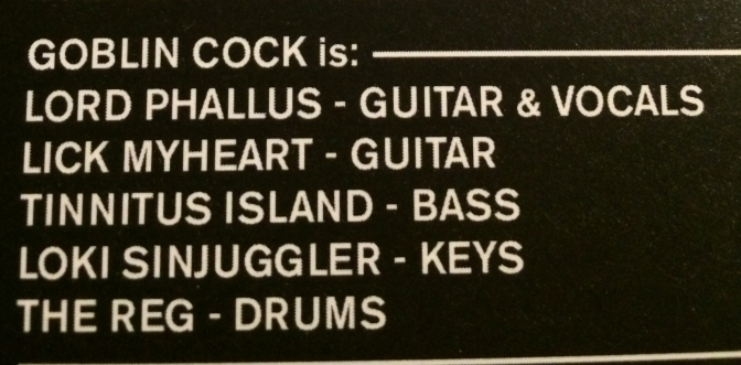 That's how you name band members!
