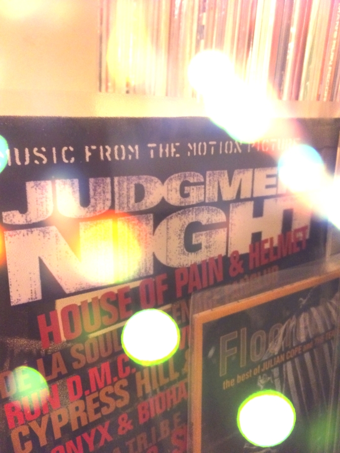 Judgment Night (soundtrack AND compilation) next to Julian Cope. Righteous.