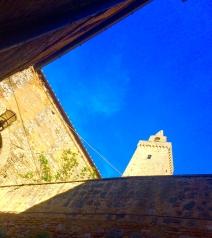 Gotta dig that Tuscan geometry. San Gimignano.