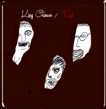 So shiny and difficult to photograph, i took matters into my own hands and made my own - using my awesome creative skillz! I have to say that is the best drawing I have ever done of John Wetton.