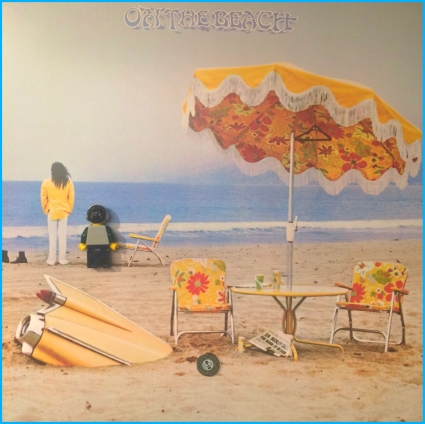 Neil Young On The Beach 02