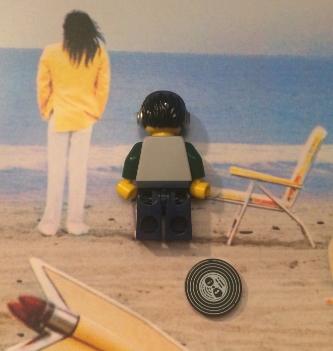 Neil Young On The Beach 03